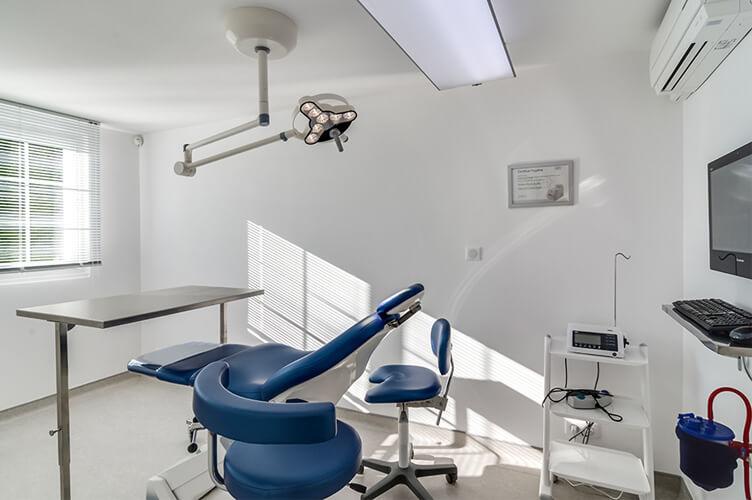 Bloc chirurgical du cabinet dentaire Elias à Osny